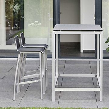 Allround Aluminium Bar Chair