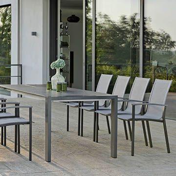 Ausziehtisch Aluminium Select 200/260x90