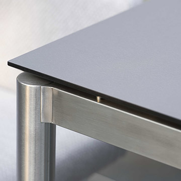 Stainless Steel Table Frame Round Tube