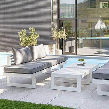 New Holly Lounge Aluminium