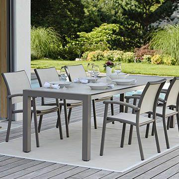 Extension Table Aluminium Standard 174/254x90
