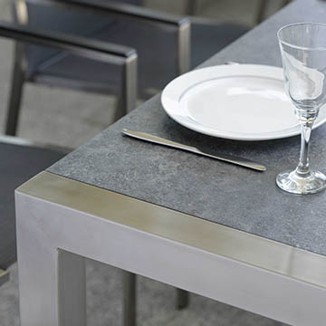 Extension Table Stainless Steel Standard 174/254x90