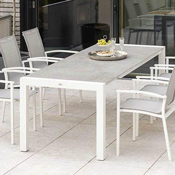 Extension Table Standard Aluminium Dekton 214/274x100