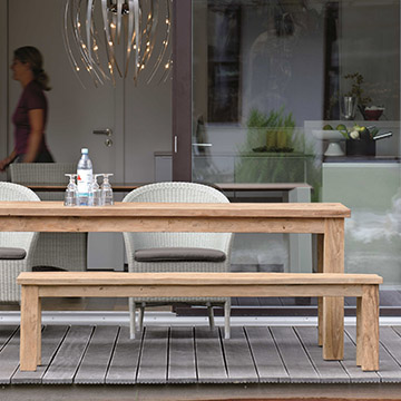 Old Teak Benches