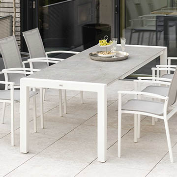 Extension Table Aluminium Dekton 174(234)x90
