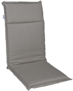 Cushion 2 parts for balcony folding chair Dessin grey brown