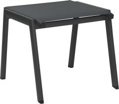 Stacking Stool Allround aluminum anthracite with textilen carbon