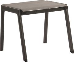 Stacking Stool Allround aluminum anthracite with textilen silver