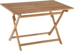 Folding table Malaga 120x80 cm teak FSC®-certified